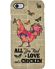 Chicken All you need Gift for you Phone Case i-phone-8-case