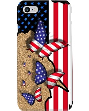 Butterfly American flag Gift for you Phone Case i-phone-8-case