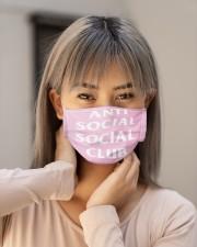 anti social social club mask Cloth face mask aos-face-mask-lifestyle-18