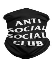 anti social social club mask Neck Gaiter thumbnail