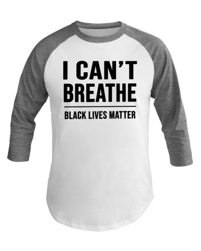 I Can't Breathe Black Lives Matter Shirt