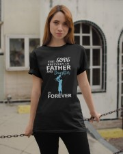 Father and Daughter Classic T-Shirt apparel-classic-tshirt-lifestyle-19