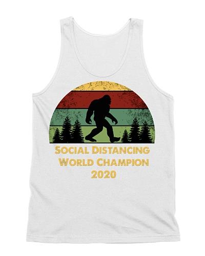 Social Distancing World Champion BIGFOOT