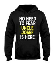 Mens Josef Funny Uncle T Shirt Gift Family Mens Gr Hooded Sweatshirt front