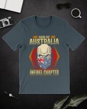 AU FLAG - LIMITED EDITION  Classic T-Shirt lifestyle-mens-crewneck-front-16