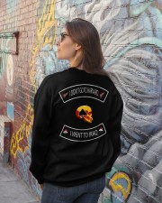 IRAQ FLAG - LIMITED EDITION  Crewneck Sweatshirt lifestyle-unisex-sweatshirt-back-2
