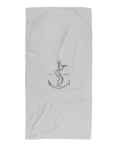 Aldus - Festina lente - Anchor and dolphin