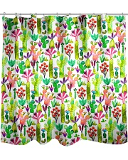 Cacti Succulent Garden Shower Curtain thumbnail