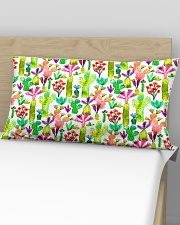 Cacti Succulent Garden Rectangular Pillowcase aos-pillow-rectangular-front-lifestyle-02