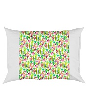Cacti Succulent Garden Rectangular Pillowcase back
