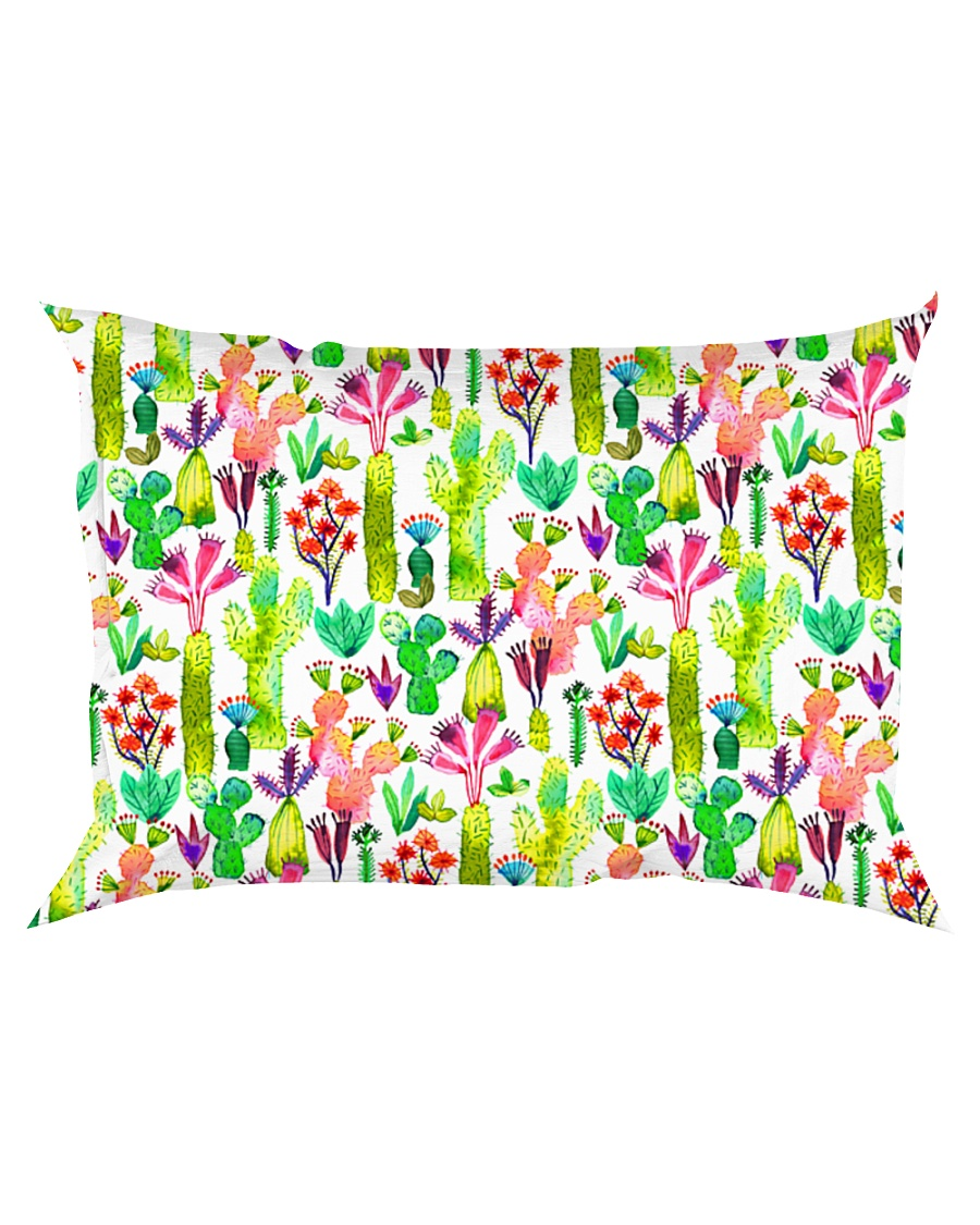 Cacti Succulent Garden Rectangular Pillowcase