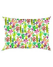 Cacti Succulent Garden Rectangular Pillowcase front