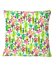 Cacti Succulent Garden Square Pillowcase thumbnail