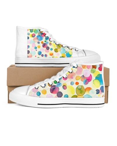 Watercolor Colorful Dots