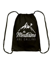 The moutains are calling Drawstring Bag thumbnail