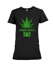 Worlds Dopest Dad Premium Fit Ladies Tee thumbnail