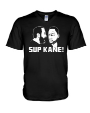 Sup Kane shirt V-Neck T-Shirt tile