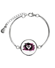 My Doxie Matters- Dachshund  Metallic Circle Bracelet thumbnail