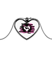 My Doxie Matters- Dachshund  Metallic Heart Necklace thumbnail