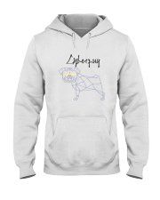 Pug - Cyberpug Hooded Sweatshirt tile
