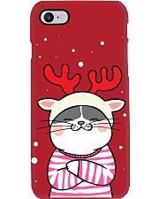 Cute Cat Christmas Phone Case thumbnail