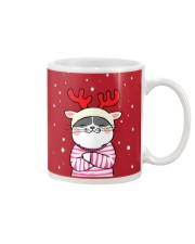 Cute Cat Christmas Mug thumbnail