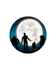 The halloween moon 2 Circle Cutting Board thumbnail