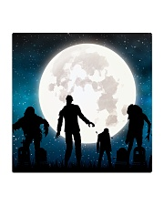 The halloween moon 2 Square Coaster thumbnail