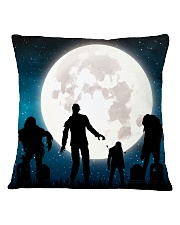 The halloween moon 2 Square Pillowcase thumbnail