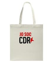 Jo Soc CDR - Blanc Tote Bag tile