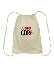Jo Soc CDR - Blanc Drawstring Bag tile
