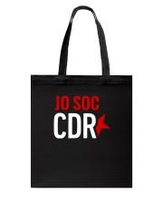 Jo soc CDR - Negre Tote Bag thumbnail