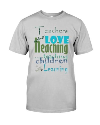 Teacher who love