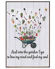 Gardening - And Into 16x24 Poster front