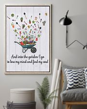 Gardening - And Into 16x24 Poster lifestyle-poster-1