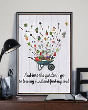 Gardening - And Into 16x24 Poster lifestyle-poster-2