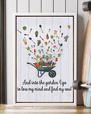 Gardening - And Into 16x24 Poster lifestyle-poster-4