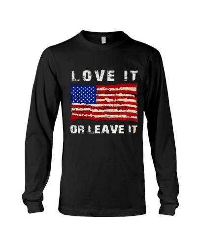 Love it or leave it America Flag