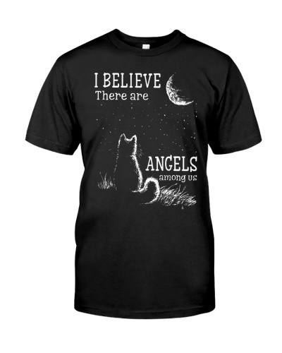 I Believe There Are Angels Among Us Cat