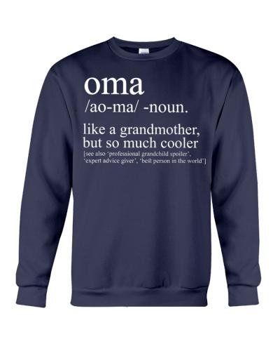 Oma For Women Grandma Birthday Mother's Day