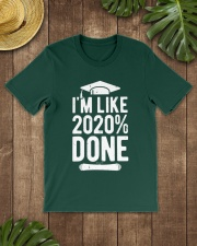 Im Like 2020 Done Graduation Class Of 2020 Premium Fit Mens Tee lifestyle-mens-crewneck-front-18