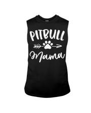 Pitbull Mama Shirt Pit bull Lover Owner Sleeveless Tee thumbnail