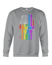 LGBT Gay Pride Rainbow USA Flag Election 2020 Crewneck Sweatshirt front