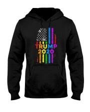 LGBT Gay Pride Rainbow USA Flag Election 2020 Hooded Sweatshirt thumbnail