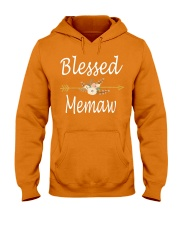 Blessed Memaw Hooded Sweatshirt front