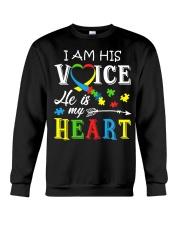 Autism Awareness Autism Mom Dad Autism Awareness Crewneck Sweatshirt thumbnail