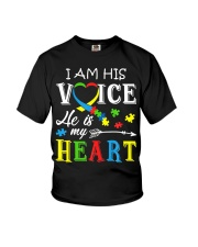 Autism Awareness Autism Mom Dad Autism Awareness Youth T-Shirt thumbnail