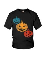 Vintage Halloween Pumpkin Costume Youth T-Shirt thumbnail