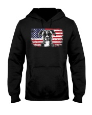 Boxer Dog Lover Vintage American Flag Hooded Sweatshirt thumbnail