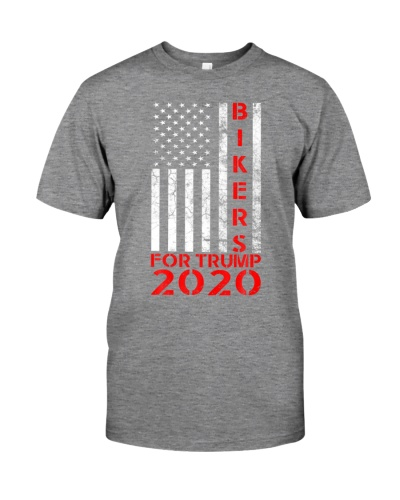 Bikers For Trump 2020 American Flag Conservative